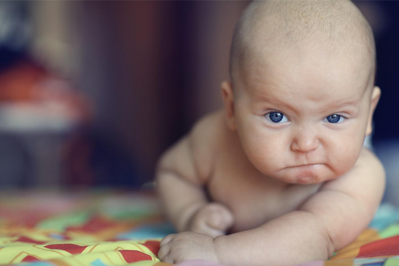 bambino e rabbia