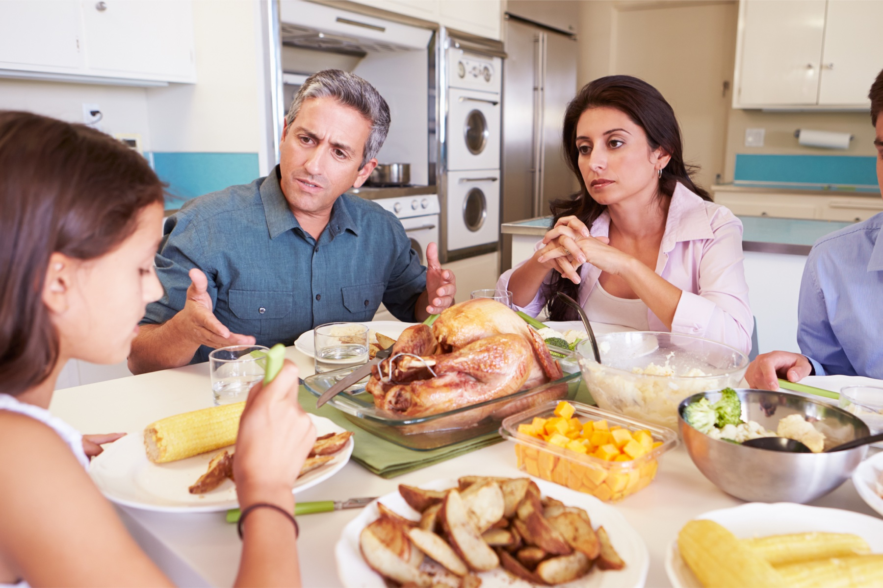 famiglia e anoressia