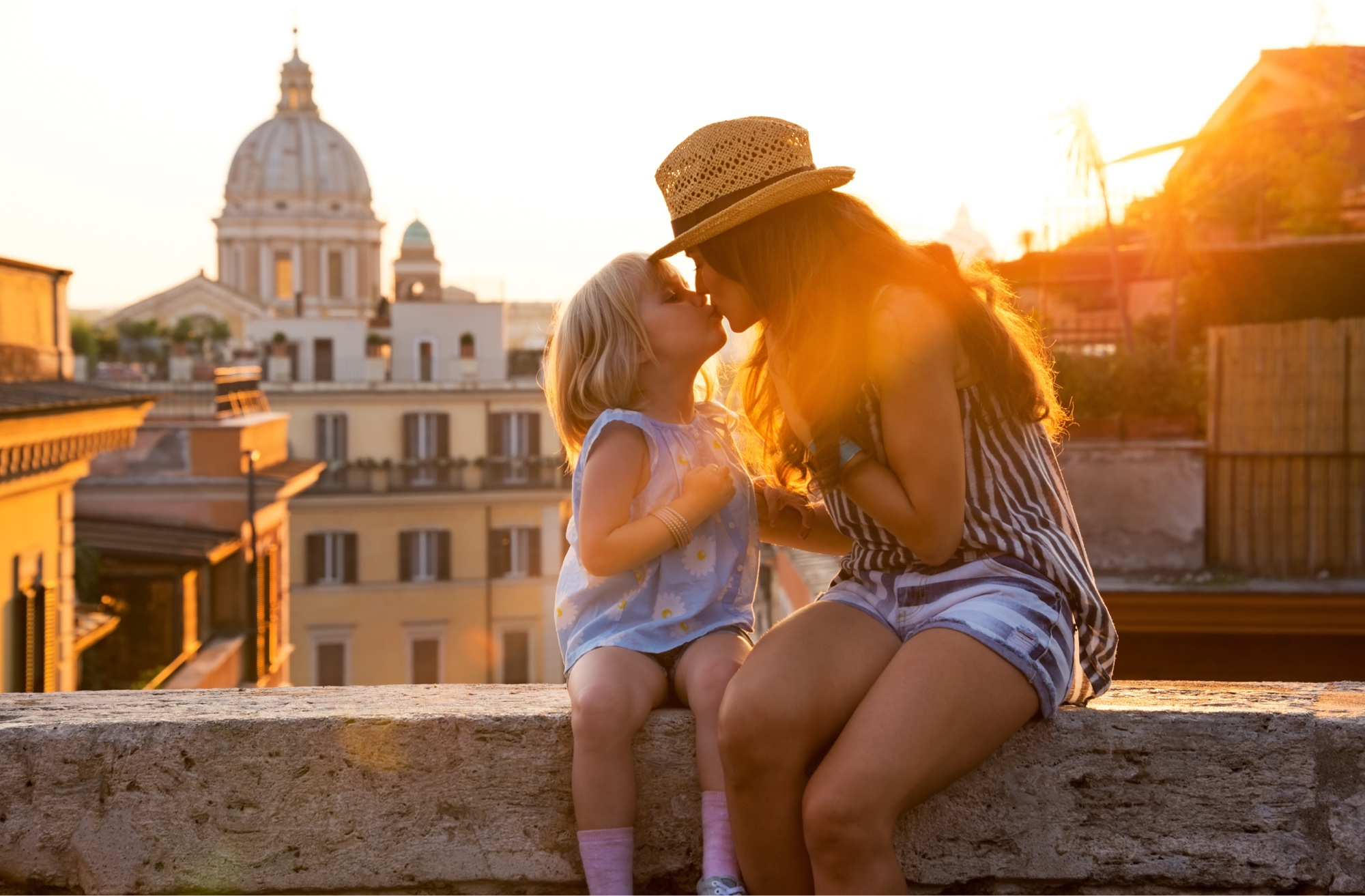un bacio di mamma